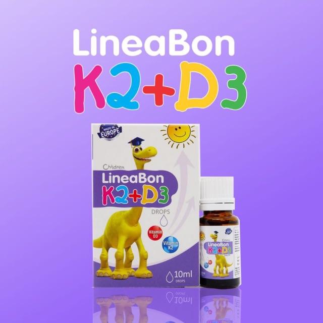 Lineabon Vitamin D3 + K2 được bán rộng rãi trên thị trường