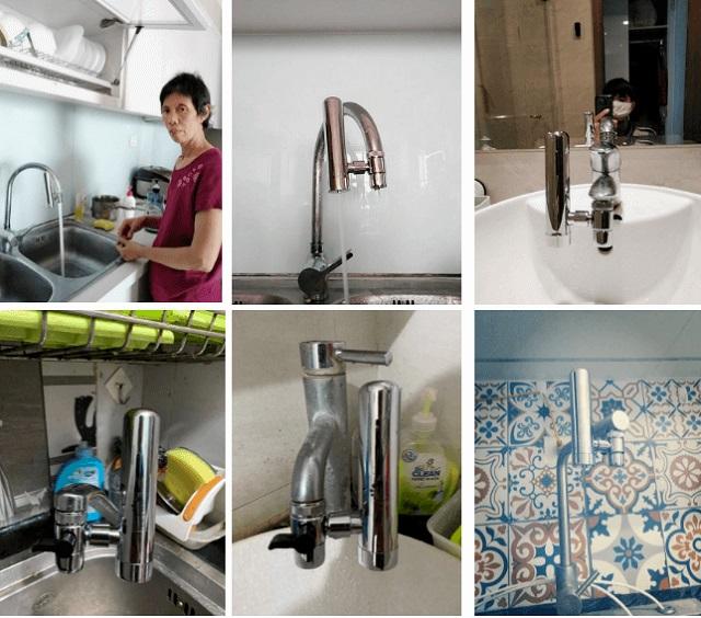 Máy lọc nước tại vòi của thương hiệu Geyser Euro chất lượng tốt giá cả phải chăng được nhiều gia đình tin dùng