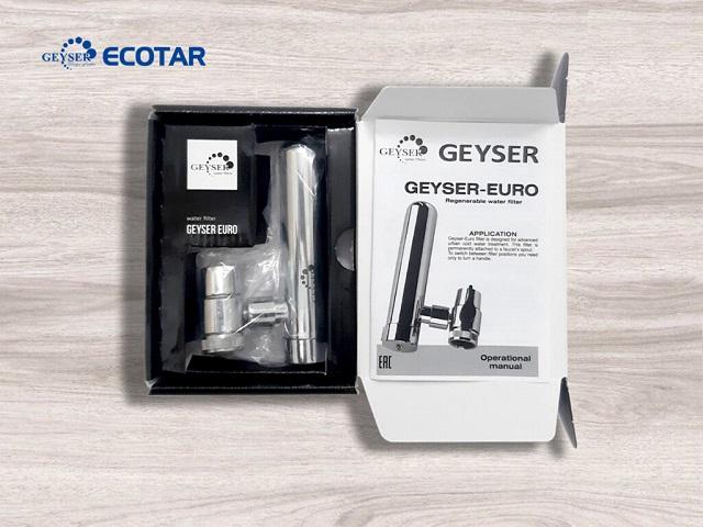 Một vài đặc điểm chung về máy lọc nước tại vòi - Geyser Euro