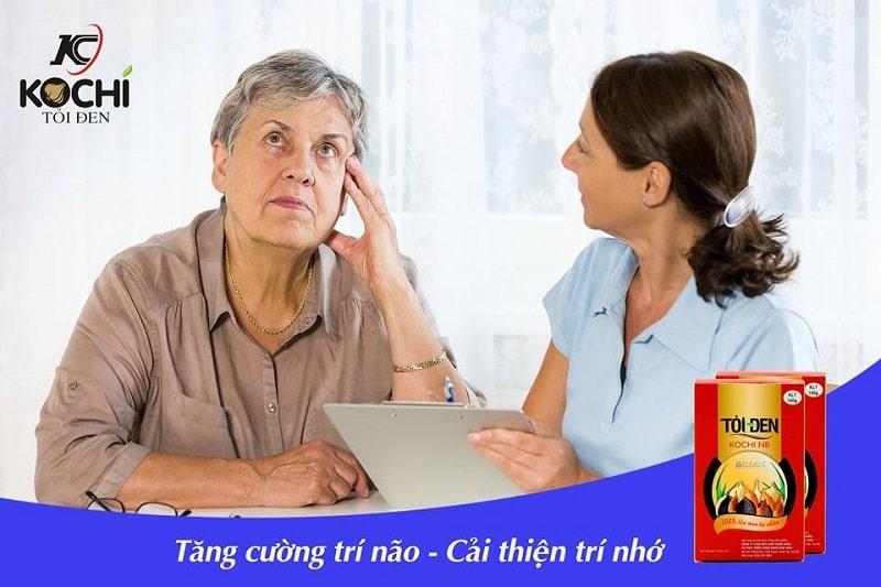 Người cao tuổi, trí nhớ kém nên ăn tỏi đen