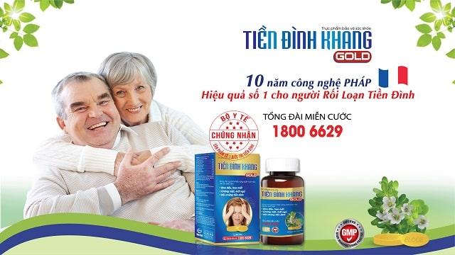 Tiền Đình Khang - giải pháp hữu hiệu cho bệnh nhân rối loạn tiền đình