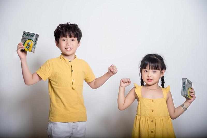 Trị Ho CƯỜNG PHẾ hiệu quả nhất cho trẻ em